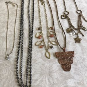 5 Great Necklaces Carolee, ABS, etc.